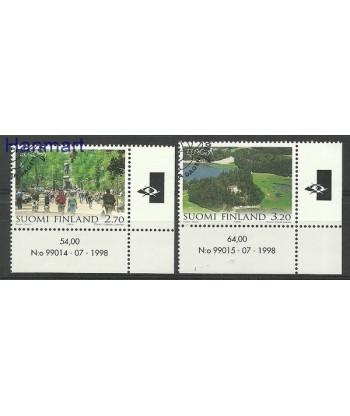 Finlandia 1999 Mi 1474-1475 Stemplowane