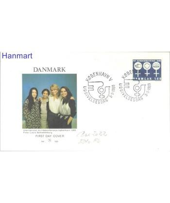 Dania 1980 Mi  FDC