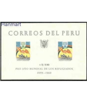 Peru 1960 Mi bl 3 Czyste **