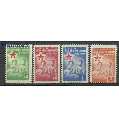 Turkey 1957 Mi 229-232 MNH