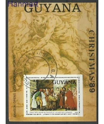 Gujana 1989 Mi bl 72 Stemplowane