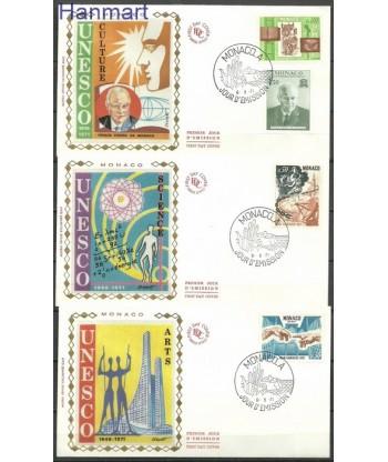 Monako 1971 Mi  FDC