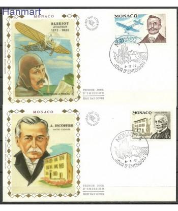 Monako 1972 Mi  FDC