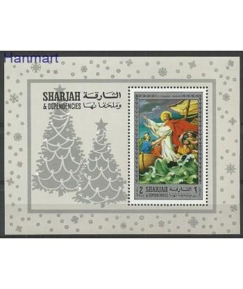 Sharjah 1970 Mi bl 79 Czyste **