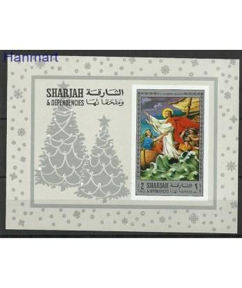 Sharjah 1970 Mi bl 79B Czyste **
