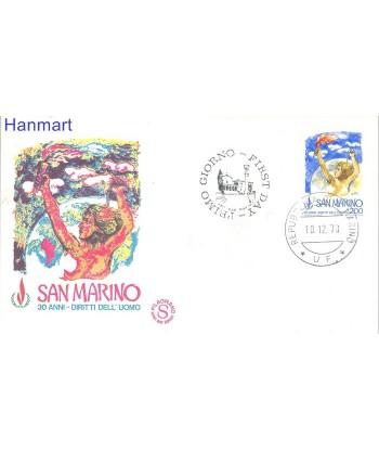 San Marino 1978 Mi 1168 FDC