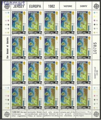 Jersey 1982 Mi ark 280 Czyste **