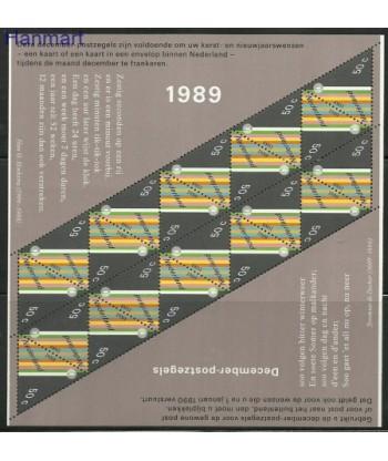 Holandia 1989 Mi ark 1374 Czyste **