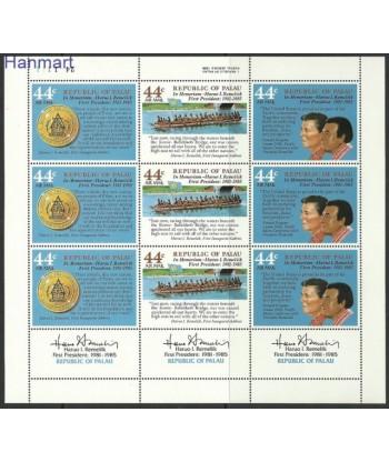 Palau 1986 Mi 146-148 Czyste **