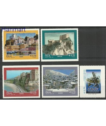 Włochy 2013 Mi 3655-3659 Czyste **