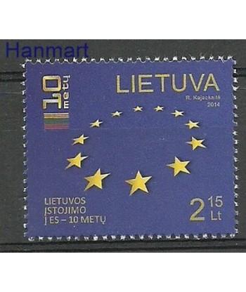 Litwa 2014 Mi 1158 Czyste **
