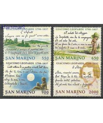 San Marino 1998 Mi 1770-1773 Czyste **