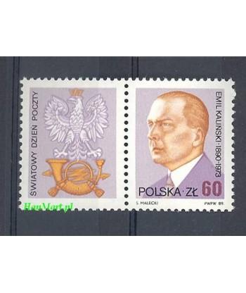 Polska 1989 Mi  Czyste **