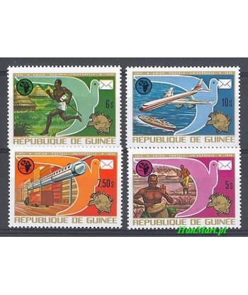 Gwinea 1974 Mi 700-703 Czyste **