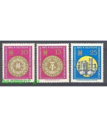 Niemiecka Republika Demokratyczna / DDR 1965 Mi 1090-1092 Czyste **
