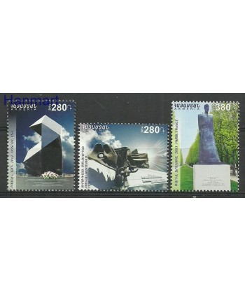 Armenia 2014 Mi 893-895 Czyste **