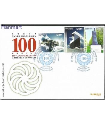 Armenia 2014 Mi 893-895 FDC