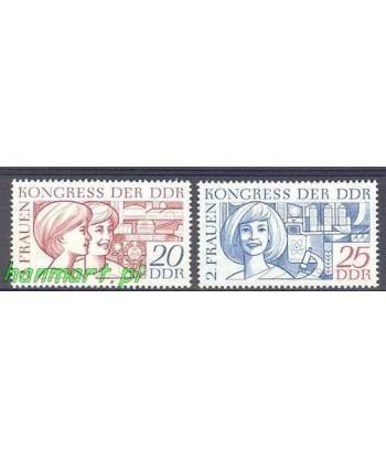 Niemiecka Republika Demokratyczna / DDR 1969 Mi 1474-1475 Czyste **