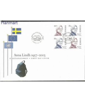 Szwecja 2003 Mi 2382-2383 FDC
