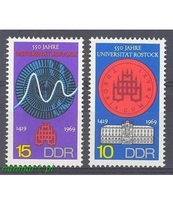 Niemiecka Republika Demokratyczna / DDR 1969 Mi 1519-1520 Czyste **