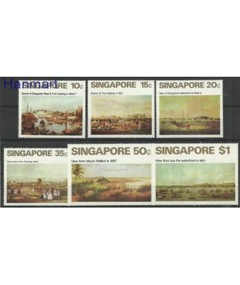 Singapur 1971 Mi 147-152 Czyste **