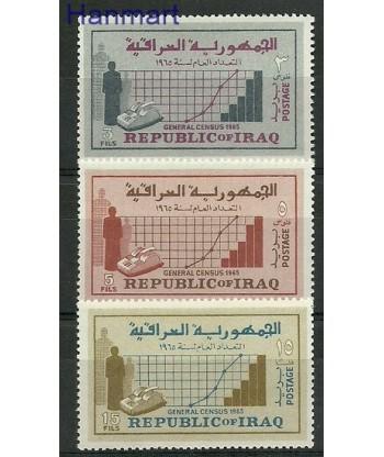 Irak 1965 Mi 429-431 Czyste **