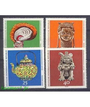 Niemiecka Republika Demokratyczna / DDR 1971 Mi 1632-1635 Czyste **