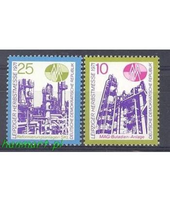 Niemiecka Republika Demokratyczna / DDR 1971 Mi 1700-1701 Czyste **