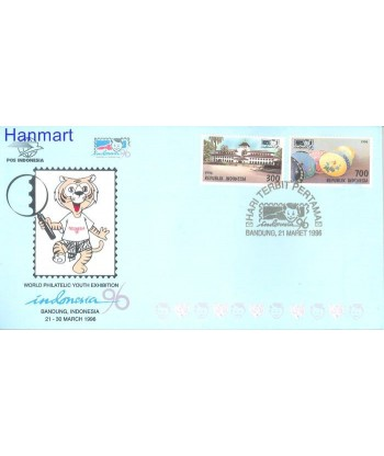 Indonezja 1996 Mi 1606-1607 FDC