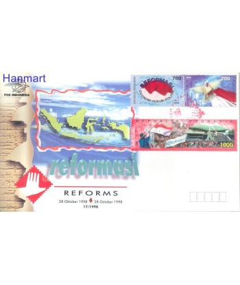 Indonezja 1998 Mi  FDC