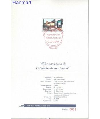Meksyk 1998 Mi 2753 FDC