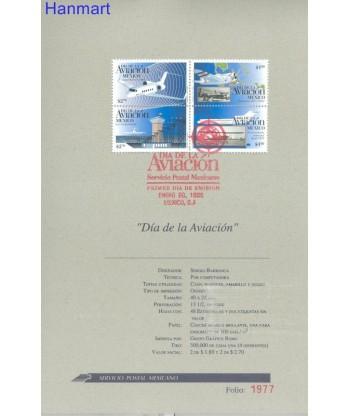 Meksyk 1996 Mi 2536-2539 FDC