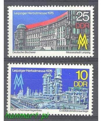 Niemiecka Republika Demokratyczna / DDR 1976 Mi 2161-2162 Czyste **