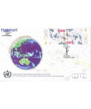 Indonezja 2000 Mi gut 1987 FDC