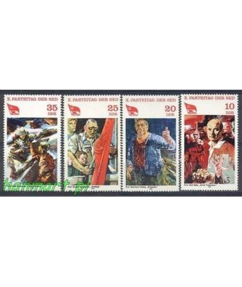Niemiecka Republika Demokratyczna / DDR 1981 Mi 2595-2598 Czyste **