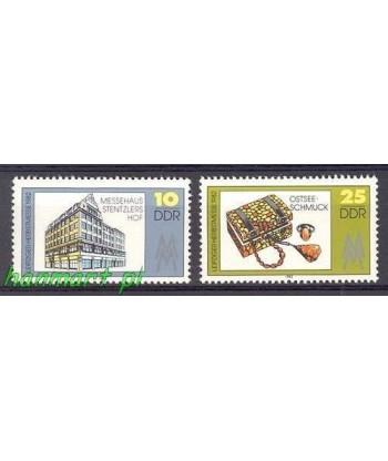 Niemiecka Republika Demokratyczna / DDR 1982 Mi 2733-2734 Czyste **