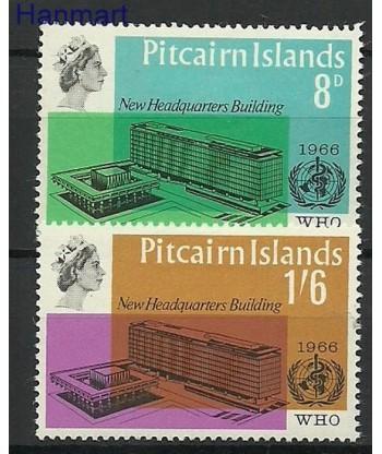 Pitcairn 1966 Mi 62-63 Z podlepka *
