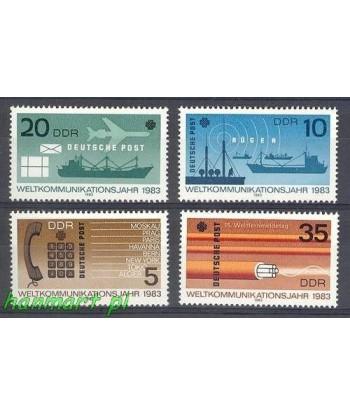 Niemiecka Republika Demokratyczna / DDR 1983 Mi 2770-2773 Czyste **