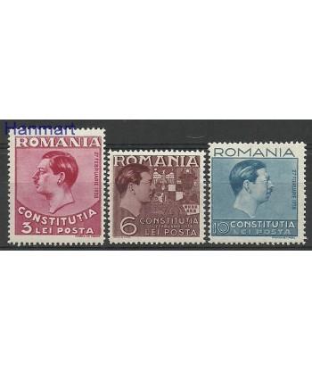 Rumunia 1938 Mi 549-551 Czyste **