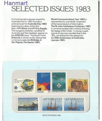 Australia 1983 Mi 835-838 Czyste **