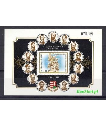 Węgry 1989 Mi bl 206 Czyste **