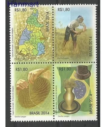 Brazylia 2014 Mi 4174-4177 Czyste **