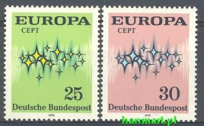 Germany - Federal Republic 1972 Mi...