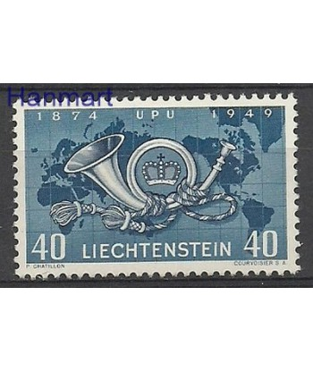 Liechtenstein 1949 Mi 277 Z podlepka *