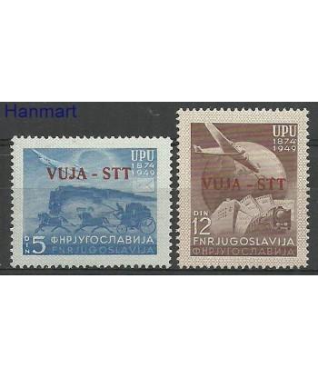 Triest - Jugosławia Zone B 1949 Mi 22-23 Z podlepka *