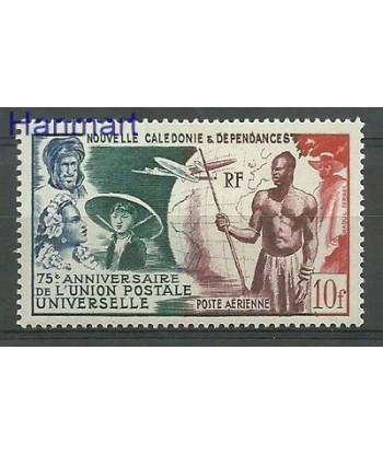 Nowa Kaledonia 1949 Mi 348 Z podlepka *