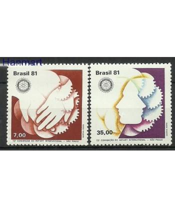 Brazylia 1981 Mi 1827-1828 Czyste **