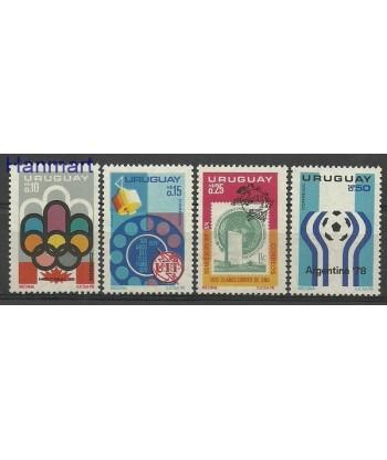 Urugwaj 1976 Mi 1402-1405 Czyste **