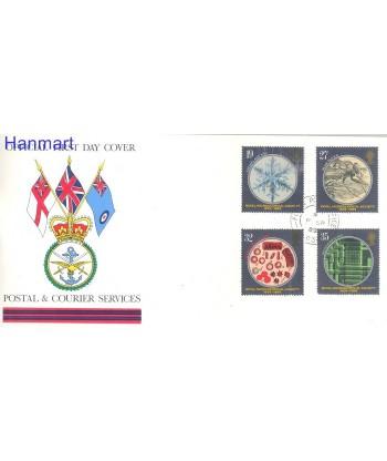 Wielka Brytania 1989 Mi 1218-1221 FDC