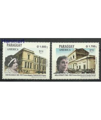 Paragwaj 1998 Mi 4779-4780 Czyste **